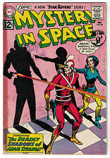 DC Comics MYSTERY IN SPACE Issue 80 The Deadly Shadows Of Adam Strange! FR
