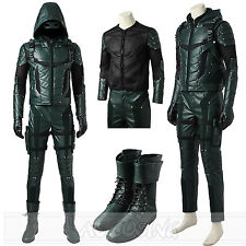 Green Arrow Season 5 Oliver Queen Cosplay Costume Top Grade Costume All Size