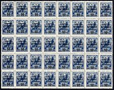 Russia blk of 40 issue of 1932-1933 Foreign Exchange 50 kop stamps Mi#VIc MNHOG