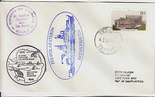 GERMANY 1979 PAQUEBOT ANTARCTIC AVIATION HELICOPTER FLIGHT FIRST DAY COVER 644FD