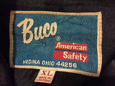 Vintage Buco Cafe Racer Lederjacke schwarz XL