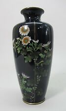 "Fine & Large 9"" Antique JAPANESE MEIJI-ERA Signed Cloisonne Vase  c. 1890"