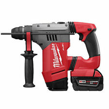 "Milwaukee 2715-22 FUEL 1-1/8"" SDS Plus Rotary Hammer Kit"