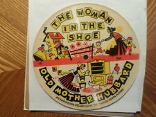 "PLAYSONG MOTHER GOOSE PLAYERS 78RPM 6+"" PICTURE DISC/WOMAN IN THE SHOE HUMPTY"