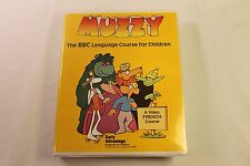 MUZZY The BBC Language Course for Children FRENCH VIDEO COURSE w/ Tape VHS Book
