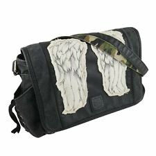 "THE WALKING DEAD ""DARYL WINGS MINI MESSENGER BAG"" Daryl Dixon NEW"