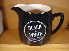 Black & White Scotch Whisky Buchanans Pitcher Vintage Wade Regicor England