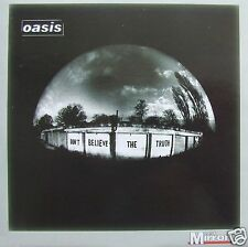 OASIS DON'T BELIEVE THE TRUTH CD VIDEO DAILY MIRROR PROMO 11 TRACKS FREE UK POST