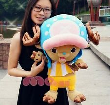 "One Piece Tony Tony Chopper Plush Toy Stuffed Animal Doll 18""High"