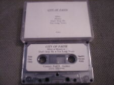 VERY RARE City Of Faith DEMO CASSETTE TAPE 1991 Leon's Getting Larger UNRELEASED