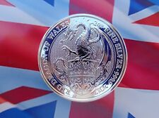 2017 Great Britain 2 oz. DRAGON coin .9999 ultra-fine silver