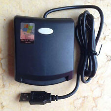 New Contact EMV SIM Smart Card Reader Writer Programmer For ISO7816 Card+CD