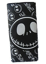 Black The Nightmare Before Christmas Jack PU Leather Clutch Holder Purse Wallet