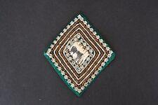 Jasdee Vintage Applique Patch Hand Work Rhinestone & Dapka Work Style A1346