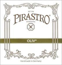 Pirastro Oliv 4/4 Violin D String 13 3/4 Gauge Silver/Gut