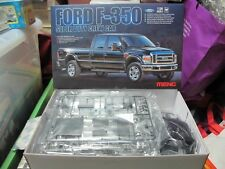 Ford F-350 super duty crew cab pickup truck model car kit 1/24 Meng free ship