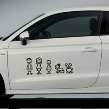 Family Member Figure Window Car Sticker Viny Decal Removable DIY Decoration New