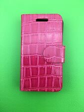 LUXURY PU PINK LEATHER CASE for Samsung Galaxy Ace GT-S5830/GT-S5830i UK POST