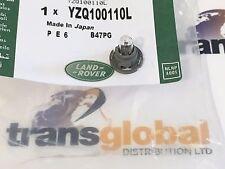 Land Rover Freelander 1 Bombilla de reloj de panel de control de 96-06 & titular YZQ100110L-Original