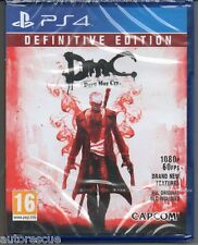 DmC Devil May Cry Definitive Edition  'New & Sealed' FREE P&P  *PS4(Four)*