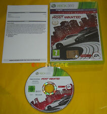 NEED FOR SPEED MOST WANTED (2) XBOX 360 Versione Italiana 1ª Edizione • USATO