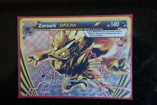 POKEMON, XY BREAKTHROUGH, ZOROARK BREAK 92/162, MINT, FOR 3.99$