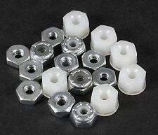 Associated 6295 Plain Nylon Locknuts 4-40 (18) SC10 / GT RC10GT T4 / B4 NTC3