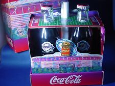 Coca-Cola Super Bowl 1994 Limited Edition Set With Bottles, Pin, & Letter