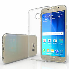 Yousave Accessories Samsung Galaxy S6 Ultra Thin Clear Silicone Gel Case Cover