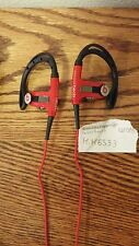 Beats By Dre POWERBEATS Red/Black BRAND NEW GUARANTEED GENUINE BEWARE OF FAKES!
