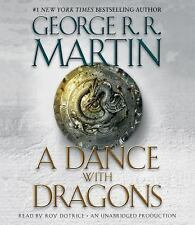 A Dance with Dragons Bk. 5 by George R. R. Martin (2011, CD, Unabridged) Part 1
