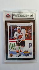 Trevor Linden 2014-15 UD Anniversary Young Guns Retro SSP Card Graded 9.5!!