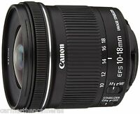Canon EF-S 10-18mm f/4.5-5.6 IS STM Wide Angle Lens for Canon DSLR's