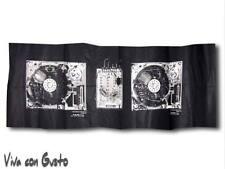 Stoff Diesel schwarz weiß Soundsystem 58x188  NEU Hst Zucchi