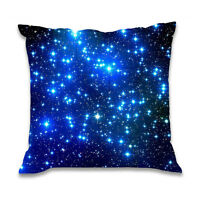 "18""*18"" Galaxy Square Throw Pillow Case Waist Cushion Cover Bed Home Sofa Decor"
