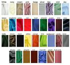 Anti Static Dress Lining Fabric Material 150c wide Wedding Prom Dress 30 COLOURS