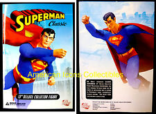 Superman Classic 13 Inch Deluxe Boxed Action Figure with Stand + Hands DC Comics