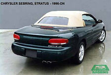 Chrysler Sebring Convertible Top w/ HEATED GLASS Window Section, CLOTH