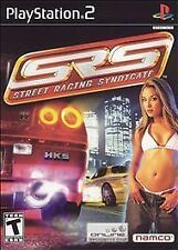 SRS: Street Racing Syndicate (Sony PlayStation 2, 2004) Complete