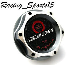 JDM MUGEN HONDA /ACURA Gunmetal BILLET ENGINE OIL CAP CIVIC ACCORD S2000 INTEGRA