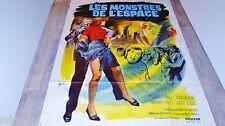 LES MONSTRES DE L'ESPACE  quatermass and the pit  ! affiche cinema 1967