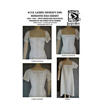 Laughing Moon - Ladies Regency & Romantic Era Corset and Chemise Patterns