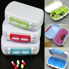 1x 6-Day Weekly Tablet Pill Medicine Boxes Holder Storage Container Case MW