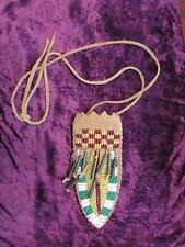 Antique Blackfoot Beaded Neck Sheath
