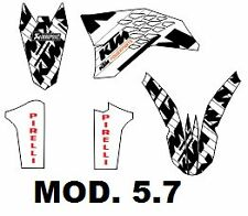 kit pegatinas ktm exc-sx 125-530 2008, 2009, 2010, 2011, graphics, adhesivos