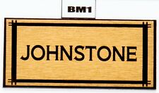 House Sign Plaque Personalised Name Plate Door Number Classic Nameplates