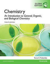 Chemistry: An Introduction to General, Organic, and Biological Chemistry 12E by.