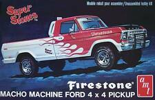 AMT 1/25 '78 Ford 4x4 Pickup Firestone Plastic Model Kit #858 AMT858 858