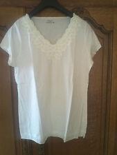T-shirt BATON ROUGE femme taille XL blanc cassé