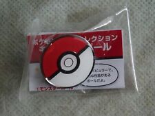 JAPAN Gashapon Pokemon Center LTD Metal Pins Collection Poké Ball 1. Poke Ball